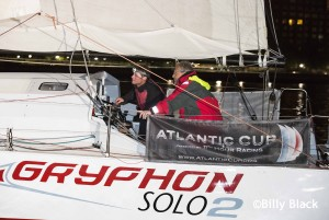 Finish of Leg 1 of the Atlantic Cup, Charleston to NYC.